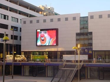 Outdoor Commercial Advertising Led Screen In Germany Yuchip