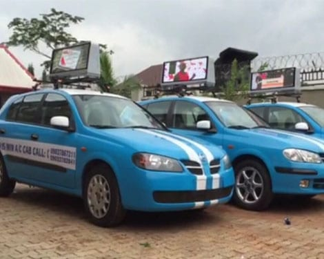 Taxi Top LED Display,Taxi Roof LED Display-YUCHIP
