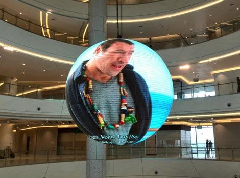 Sphere Display,Sphere LED Display, LED Display Ball-YUCHIP