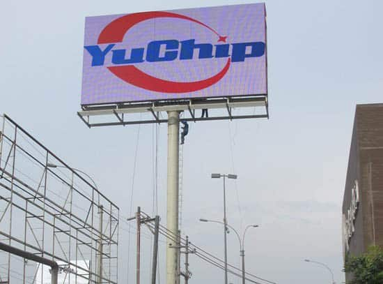 p20 led billboard for advertising yuchip