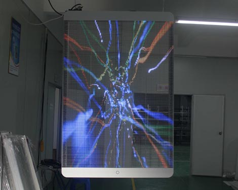 Glass Transparent Led Display Glass Led Display Yuchip