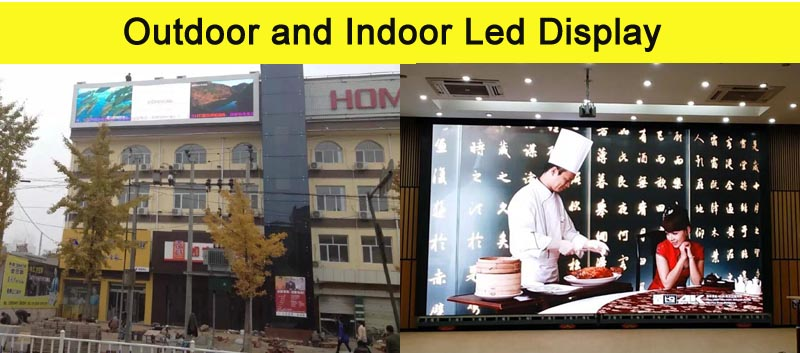 Differences Between Indoor LED Display and Outdoor LED Display