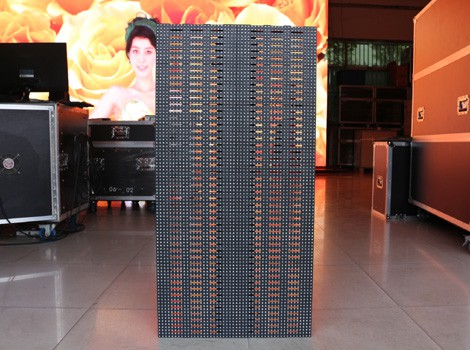 p8.92 curtain led display for rental outdoor