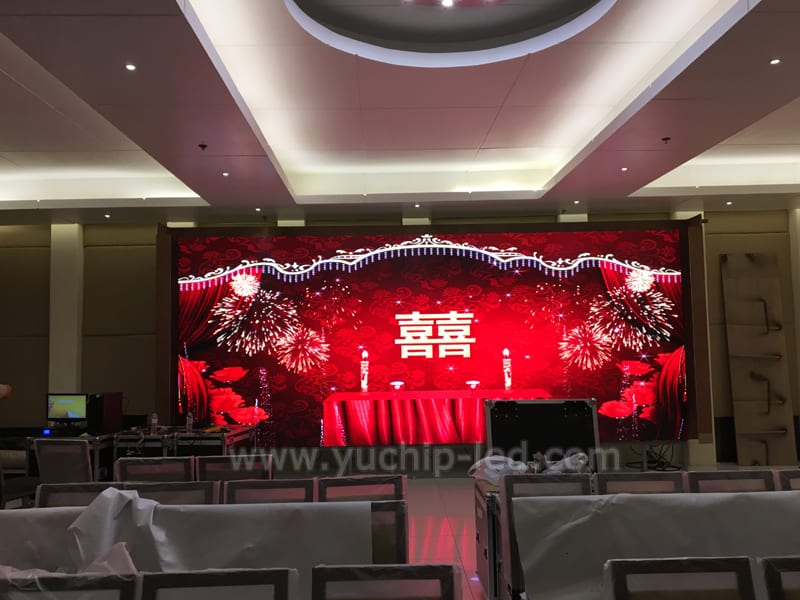 P4 Indoor Led Video Wall Panels In Malaysia Yuchip