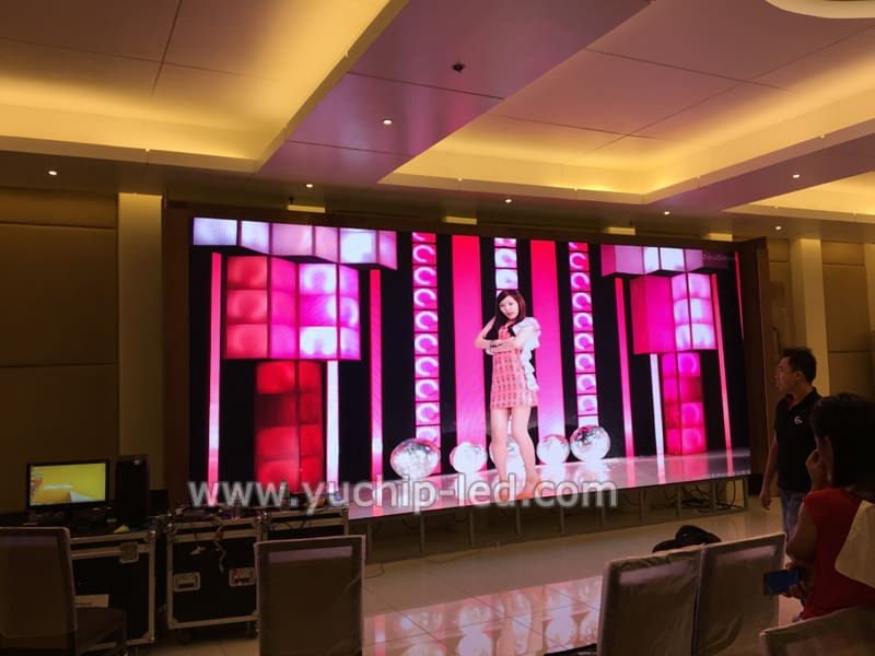 Yuchip P4 Indoor Hd Led Video Display In Malaysia Yuchip