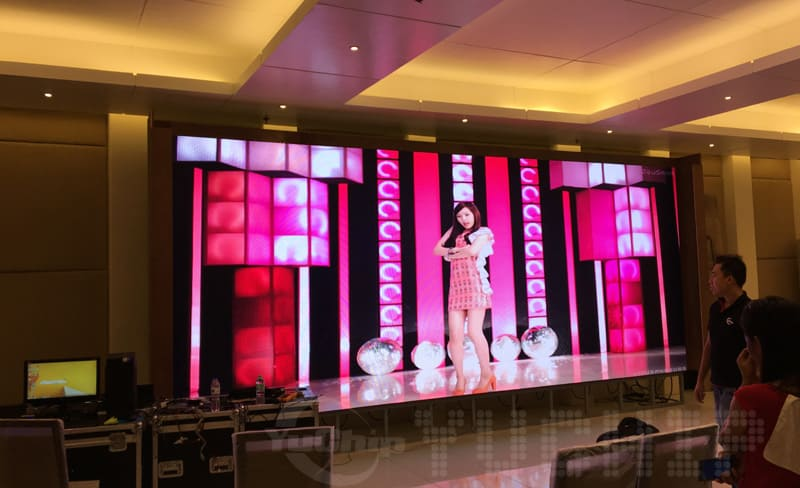P4 Indoor Rental LED Screen for stage