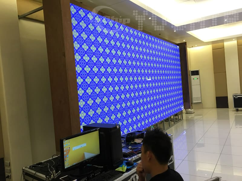 P4 led screen indoor
