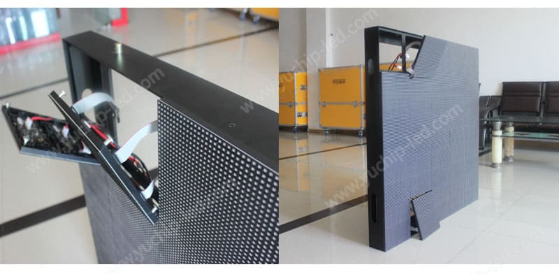 indoor front maintenance led display