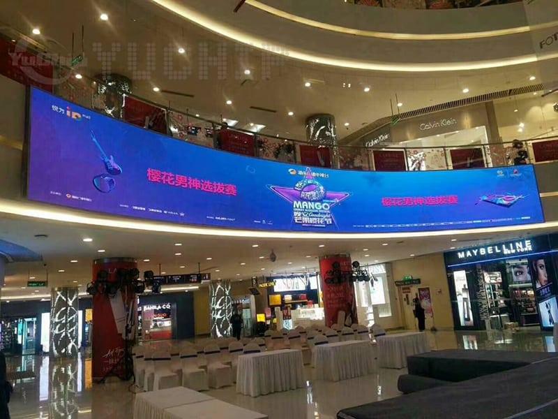 Indoor P4 Led Advertising Display In Hunan Yuchip