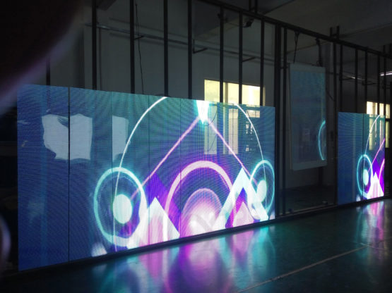 indoor Transparent led screen