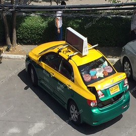 13. Taxi Top LED Display in Thailand