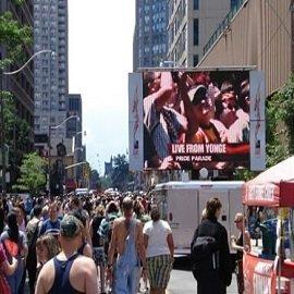 19. Mobile Truck Led Panel In America