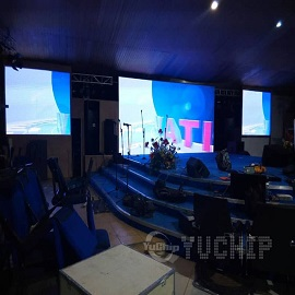Church LED Screen In Nigeria From YUCHIP 12