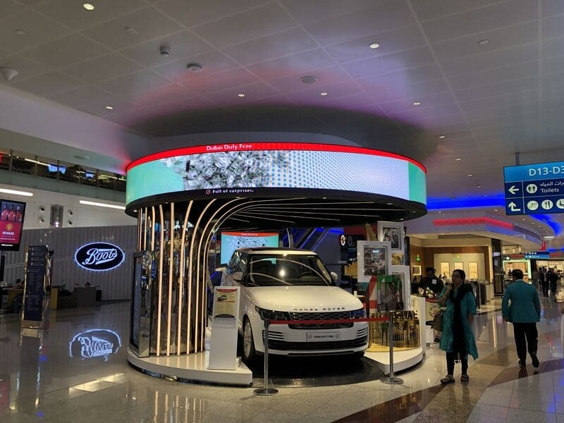 LED Screen Advertising Exhibition