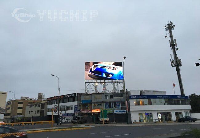 P20 Outdoor Advertising Screen In Peru