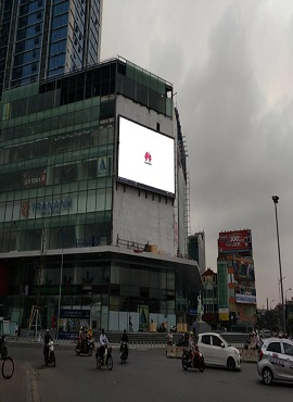 P5 Outdoor HD Advertising LED Display 140sqm In Vietnam