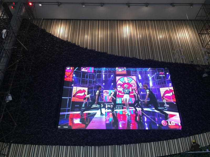 P6 Indoor HD LED Video Wall In Thailand