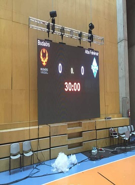 P6.25 LED Video Wall In Hungary