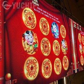P2 42m² Laos LED Screen