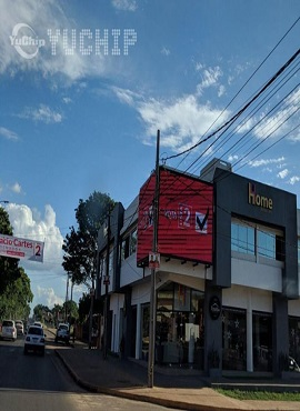 YUCHIP Outdoor Fixed P10 LED Display Shines In Paraguay
