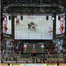 YUCHIP Stadium Rental P4.8 LED Display Debut in Hungary 2