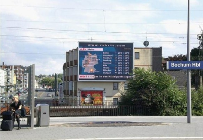Large Video LED Display of P20 in Germany