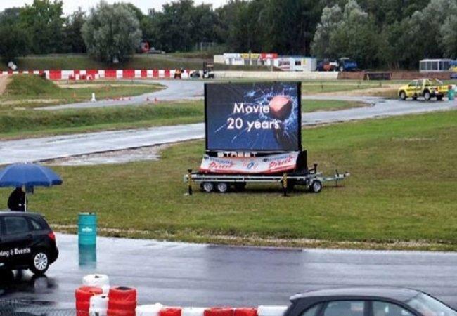 Mobile Truck LED Display & Trailer LED Display
