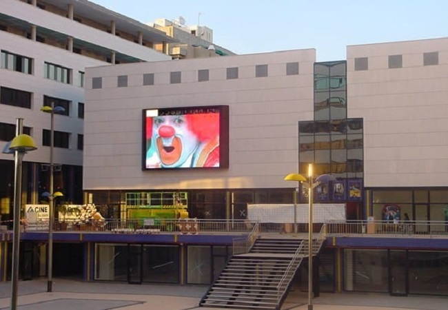 Outdoor Commercial Advertising LED Screen in Germany