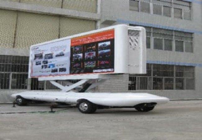 P10 Truck Mobile LED Screen