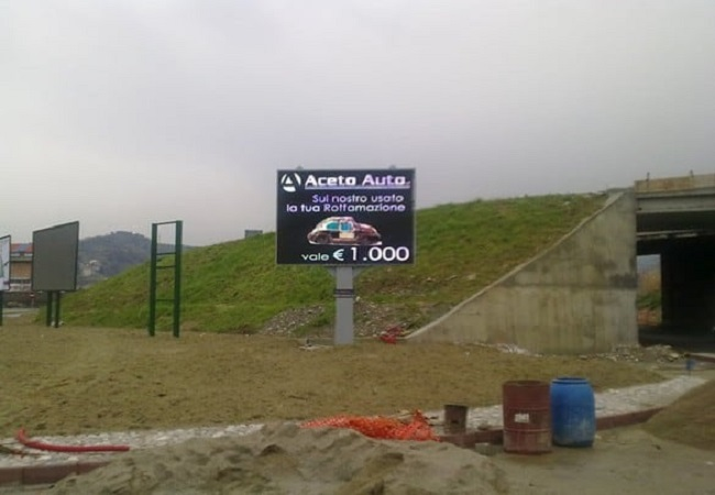 P16 Advertising LED Screen in Italy