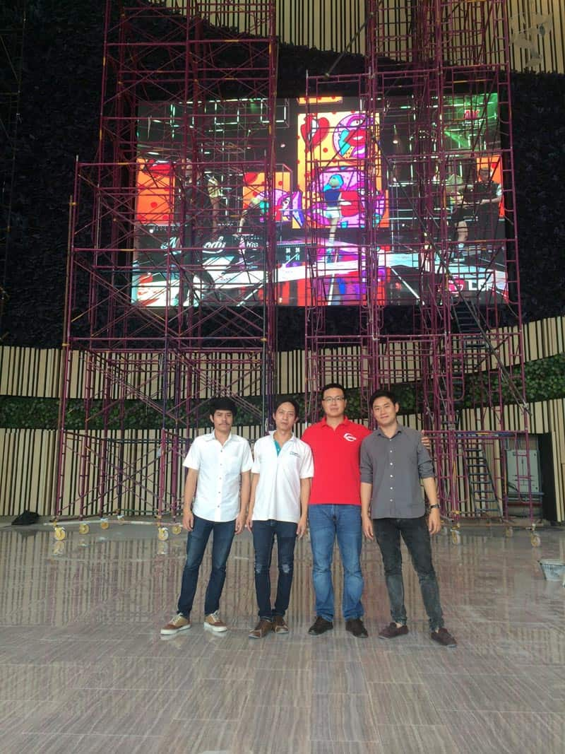 P6 Indoor HD LED Display Screen In Thailand