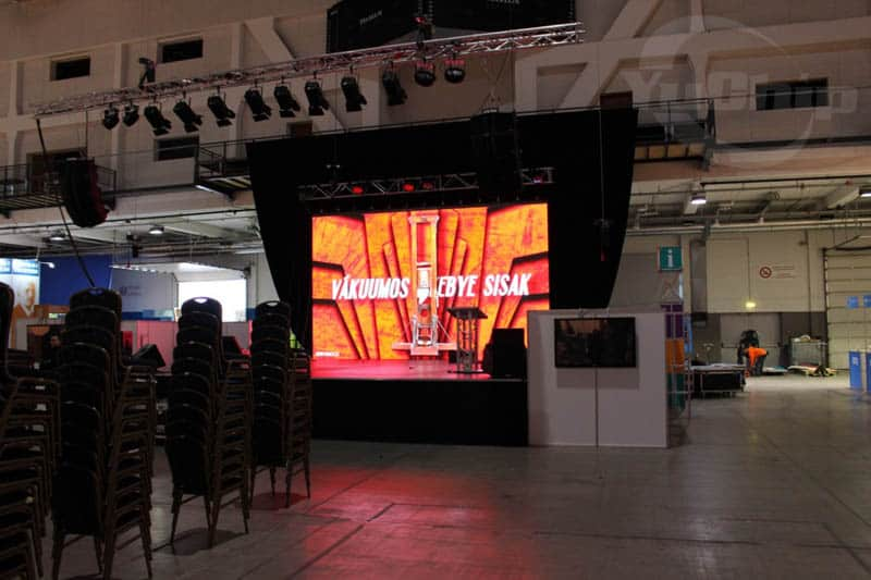 P6.25 Indoor Rental LED Video Wall In Hungary