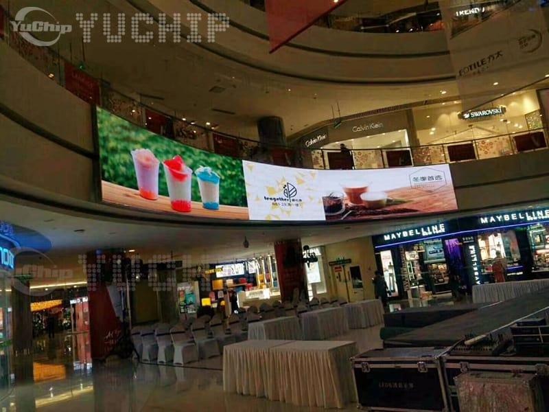 YUCHIP Indoor P4 LED Display In Hunan