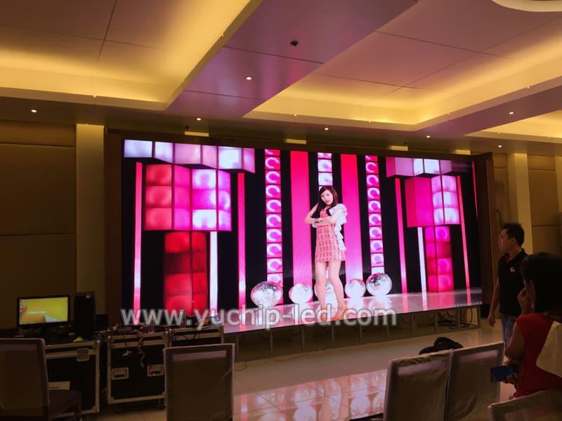 YUCHIP P4 Indoor HD LED Video Display In Malaysia