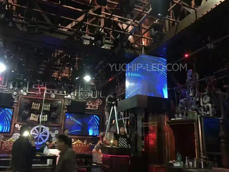 YUCHIP P4 Indoor LED Panel In Shanghai