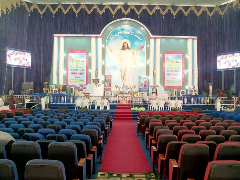 Yuchip P4 SMD2121 Indoor Church LED Display In Nigeria