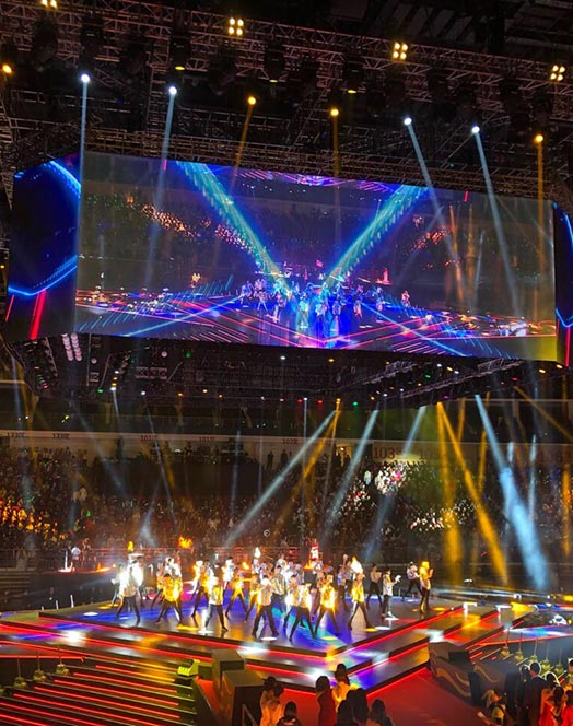 Transparent LED Screen for Events