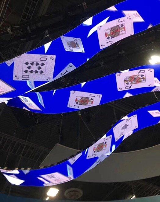 Flexible LED Video Wall