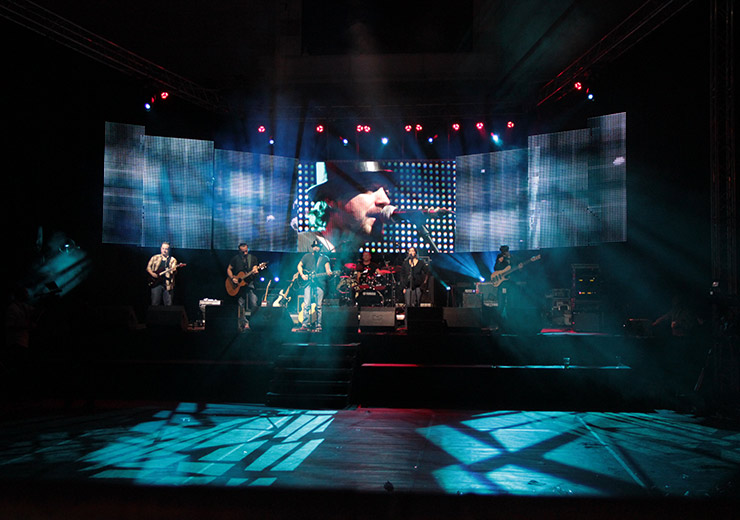 LED Backdrop Screen Rental