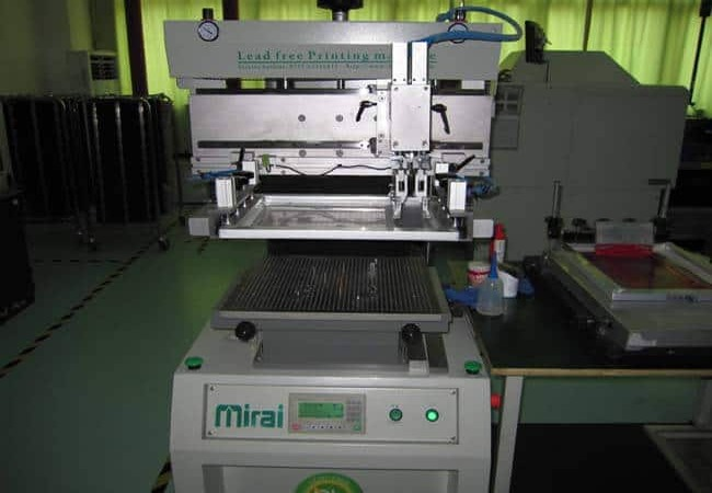 LED Print Machine
