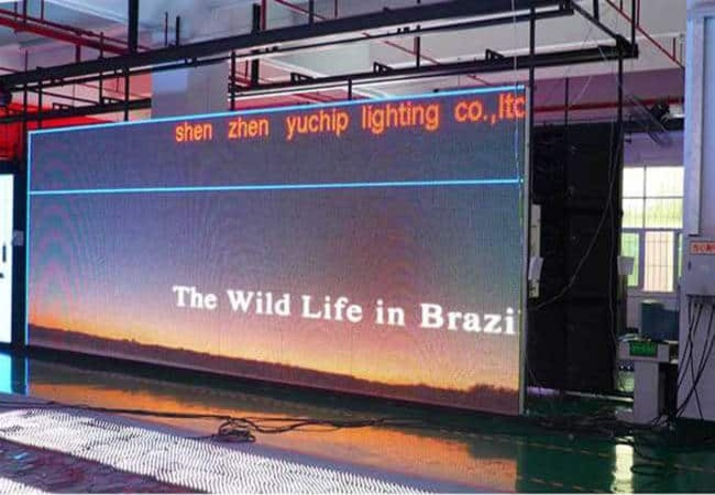 LED Display Aging Test
