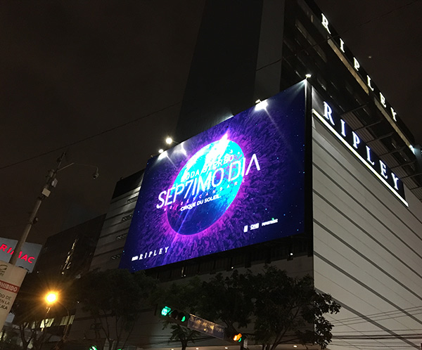 Outdoor LED Movie Screen
