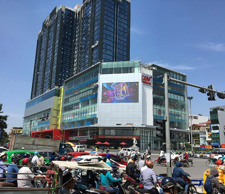 P5 Outdoor LED Screen in Vietnam
