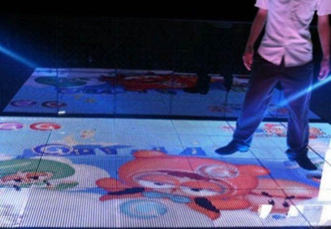 Interactive LED Floor Screen