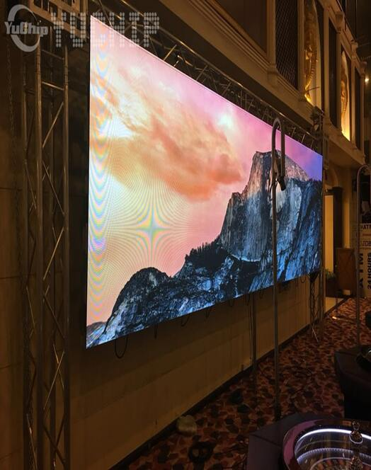 High Resolution LED Panel For Hospitality Venues
