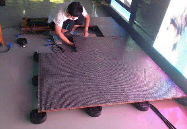 LED Screen Floor Tiles