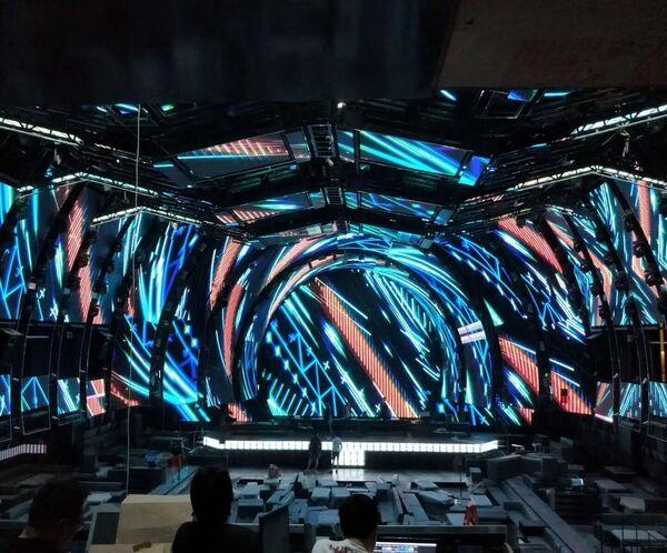 Nightclub LED Wall