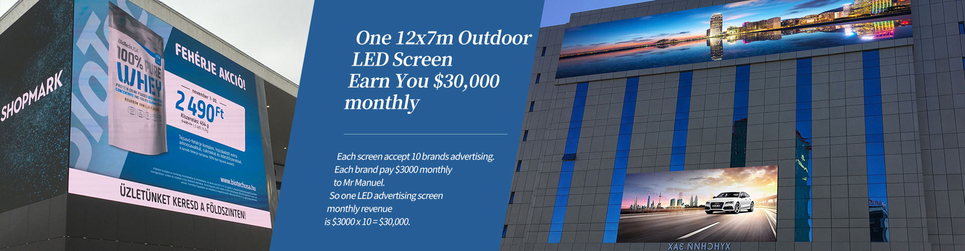 Outdoor LED Screen Advertising