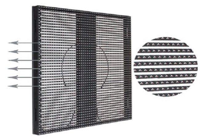 P25 LED Curtain Screen