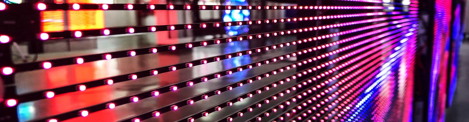 Transparent Glass LED Display